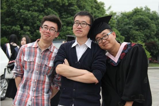 不说再见,不述离伤 计算学院2013届毕业生合照拍摄现场剪影 计算机